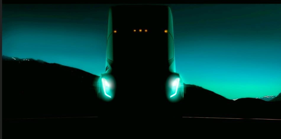 """Unreal"" Tesla Semi Set For October 26 Unveiling"
