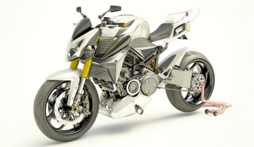 Is This Rotary Engine Hybrid Motorcycle the Future?