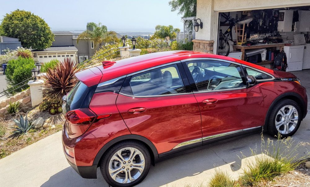 Chevy Bolt CARB point of sale EV rebate