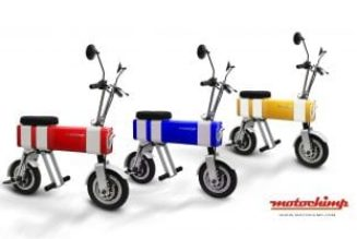 Motochimp electric scooter