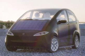 Sono solar powered car