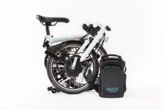 Brompton Folding Electric Bicycle Uses Formula E Technology