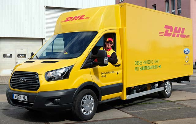 DHL Work XL electric truck