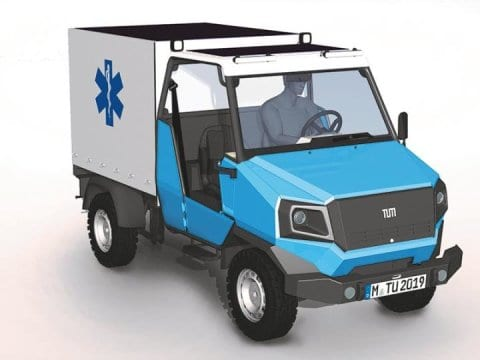 aCar electric car for Africa