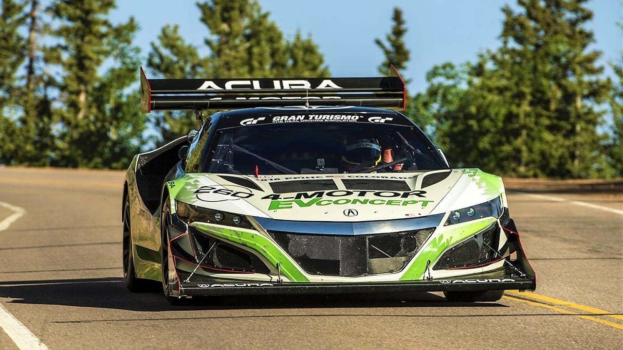 1000 HP Electric Acura NSX Hillclimb Monster