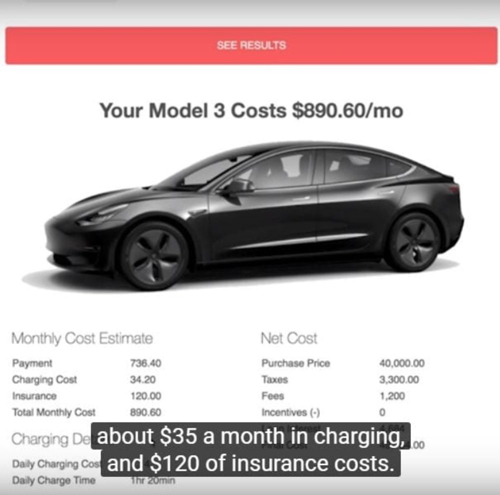 The Tesla Model 3 Most People Want Will Cost $890 A Month ...