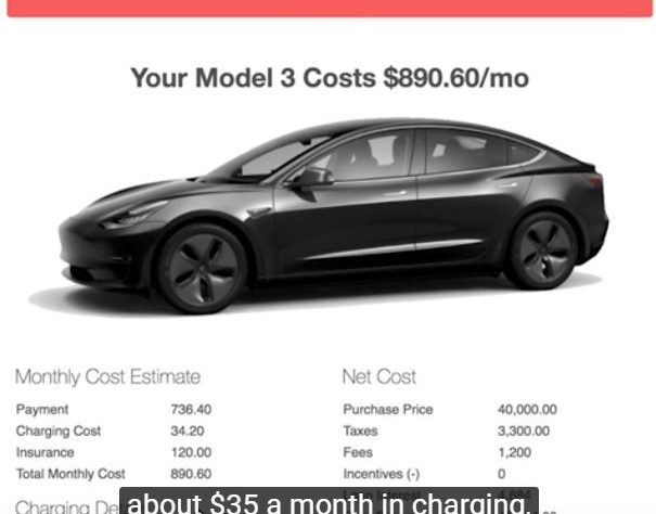 The Tesla Model 3 Most People Want Will Cost $890 A Month