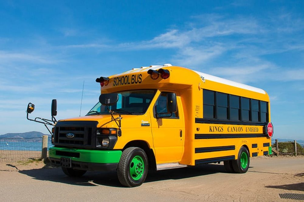 Electric school buses from Motiv Powser