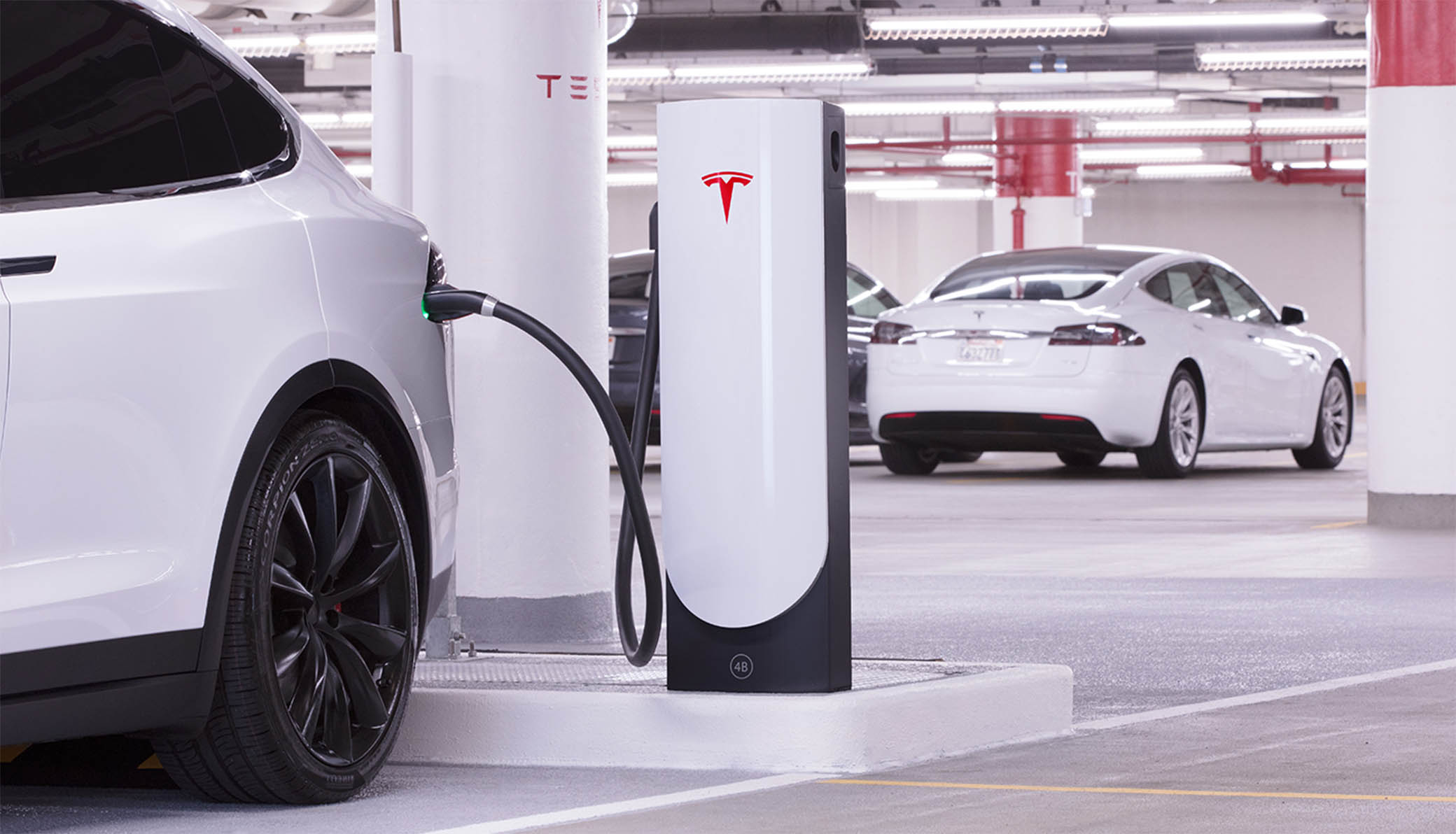 Tesla Supercharger for urban areas