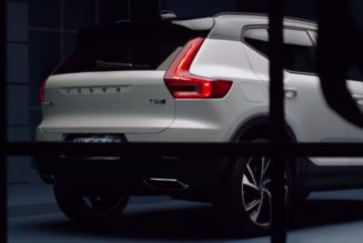 Volvo XC40 Leaked Ahead of Geneva (19 Photos)