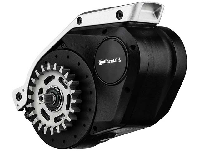 Continental electric bicycle motor