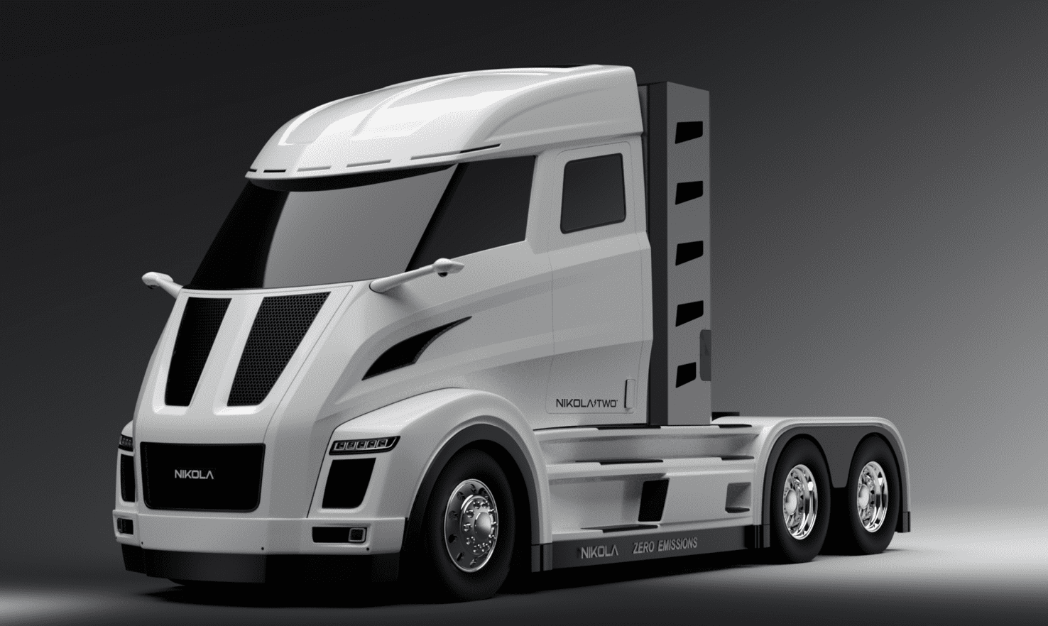 Nikola Two electric trucks
