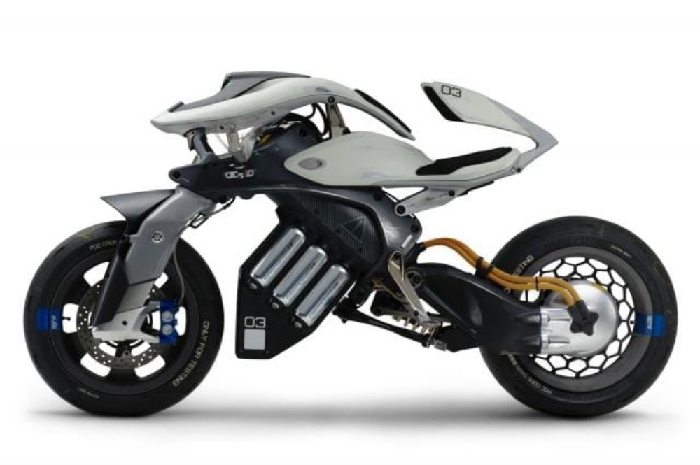 Yamaha Electric Motorcycle >> Yamaha Teases Motoroid Electric Motorcycle Ai For Tokyo
