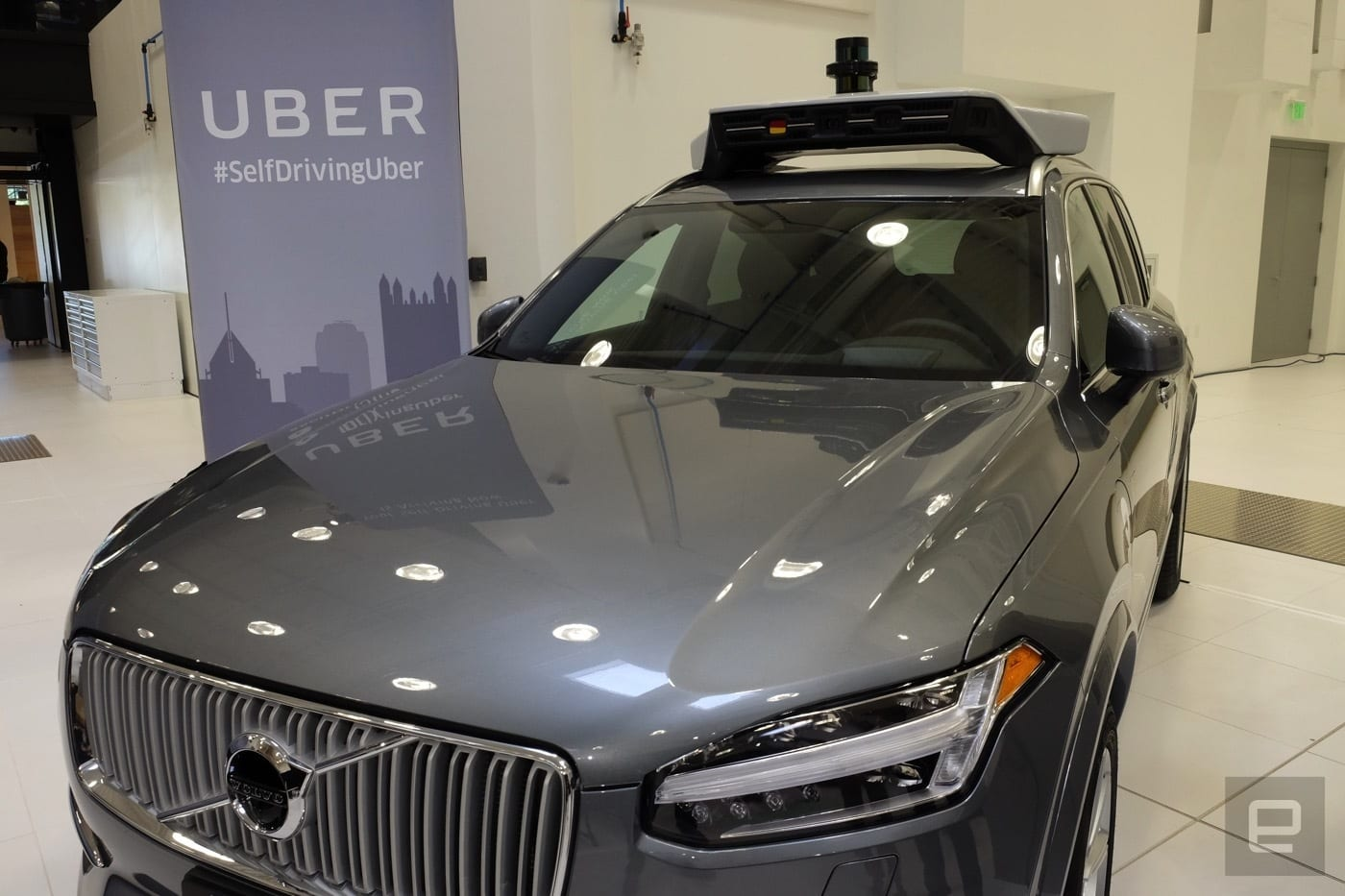 Uber Announces Plans to Buy 24,000 Self-driving Volvo Cars