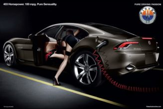 Friday Flashback: Fisker Ads Were Sexist and Awful