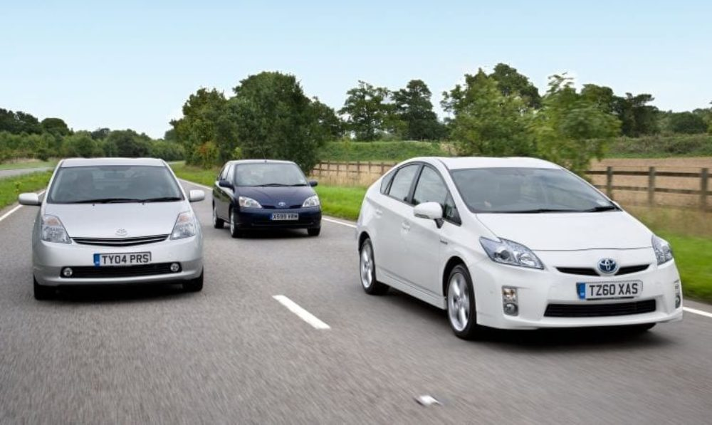 Looking Back on 20 Years of the Toyota Prius