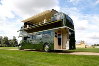 Recycled Hawtness: the Rosebery Double Decker Bus Bar