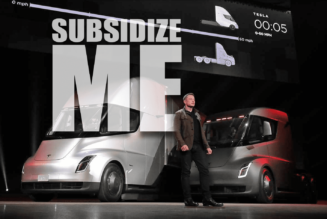 Elon Musk Tesla Truck Electric Vehicle Tax Credit