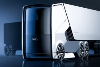Incredible Electric Truck Concept Art for Audi (Part 1 of 2)