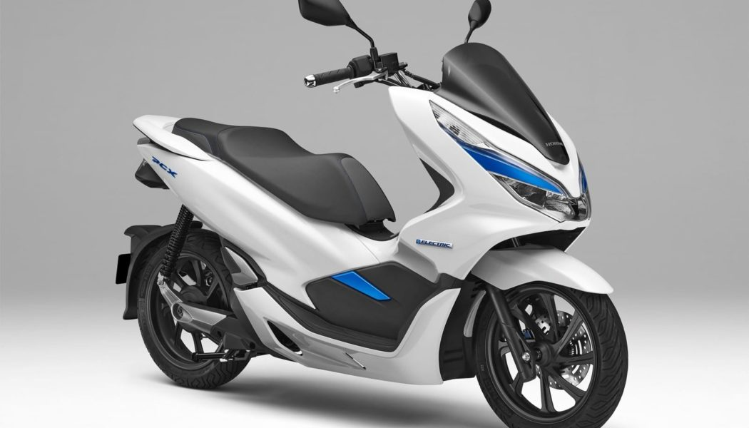 CES 2018: Honda PCX Electric Scooter w/ Battery Swap Tech