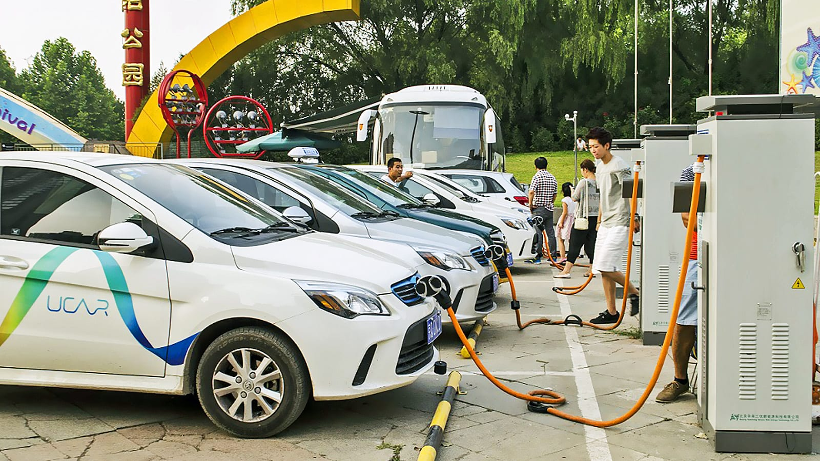 electric cars in china