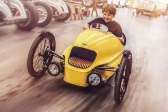 Morgan EV3 Junior for Mini EV Enthusiasts