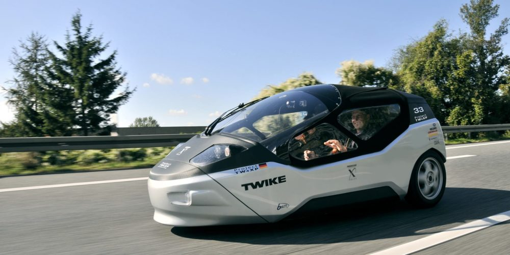 Twike Light Electric Velomobile
