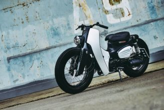 K-Speed Honda Super Cub is the Sikkest Moped of 2018