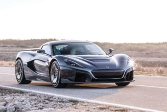 Rimac C Two Electric Supercar