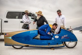 Land Speed Record Motorcycle - Triumph