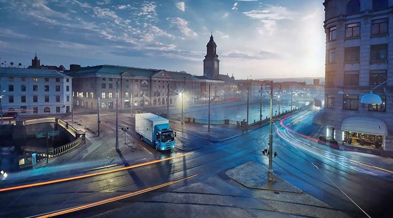 Volvo Set to Begin Sales of its Electric Semi in 2019
