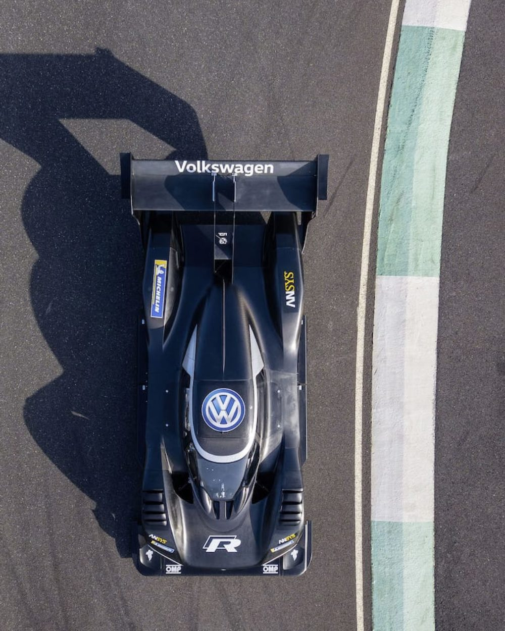 VW's All-electric Hillclimb Monster Hits the Racetrack