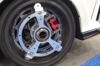 Orbis Ring Drive Electric Wheel Motors - Honda Civic Type R