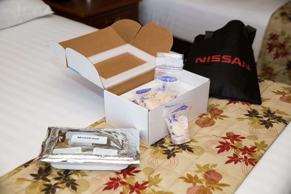 Nissan Moms Can Ship Breast Milk for Free