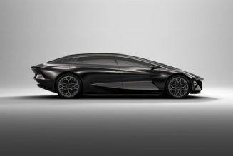 Aston Martin Confirms All-electric Lagonda SUV