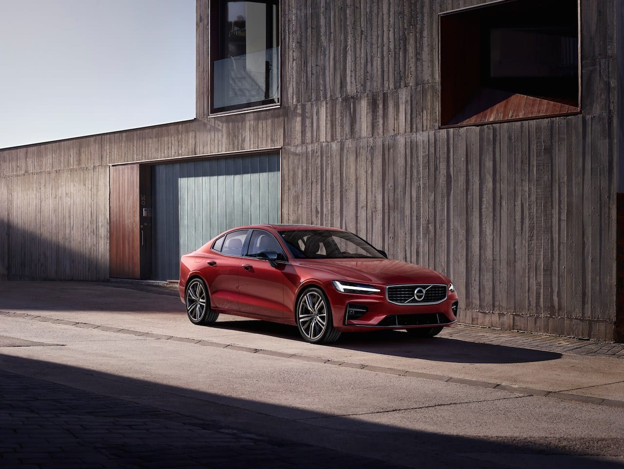 Made in the USA:  All-new 2019 Volvo S60