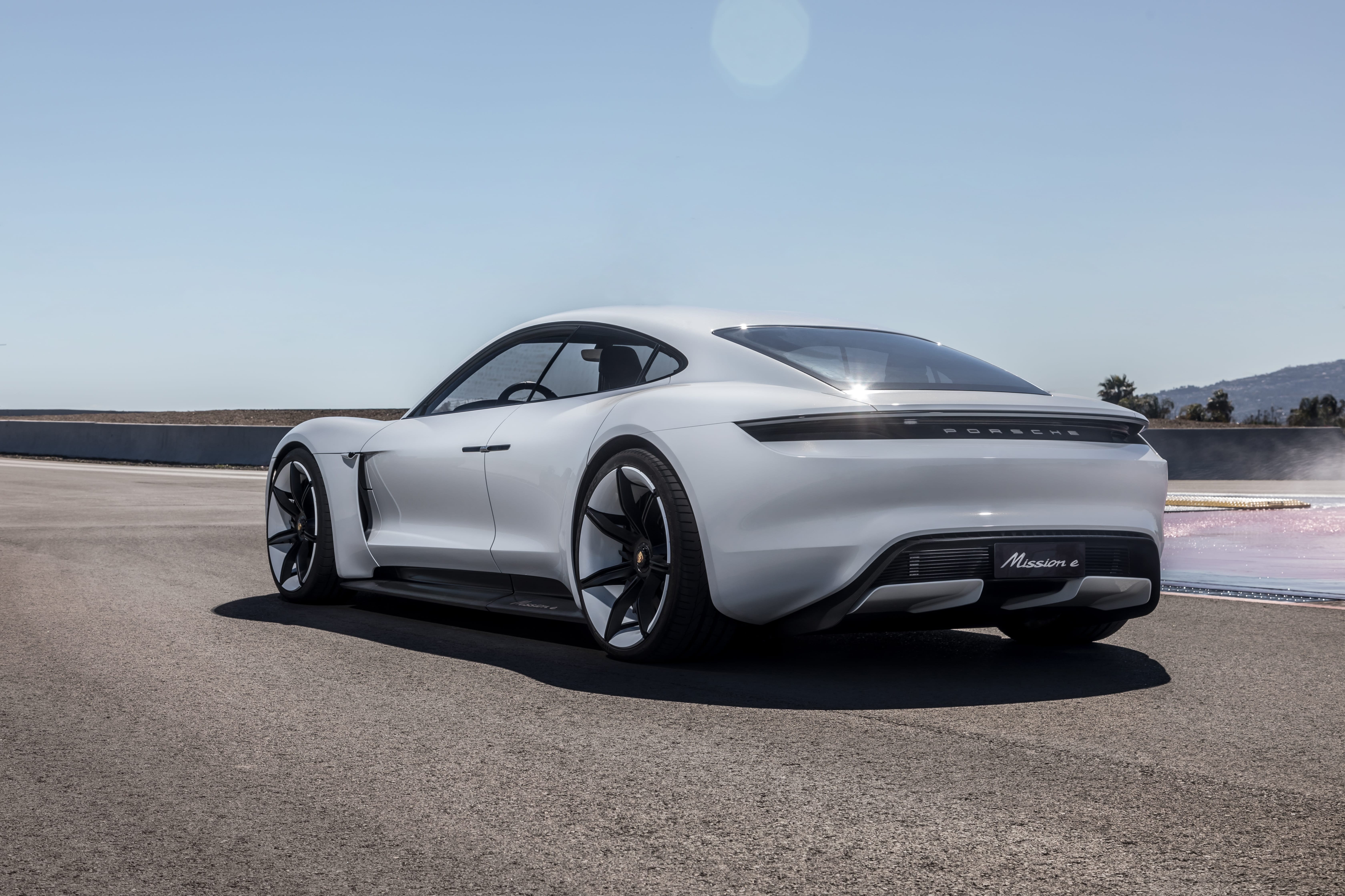 Porsche Taycan - Mission E Gets a New Name