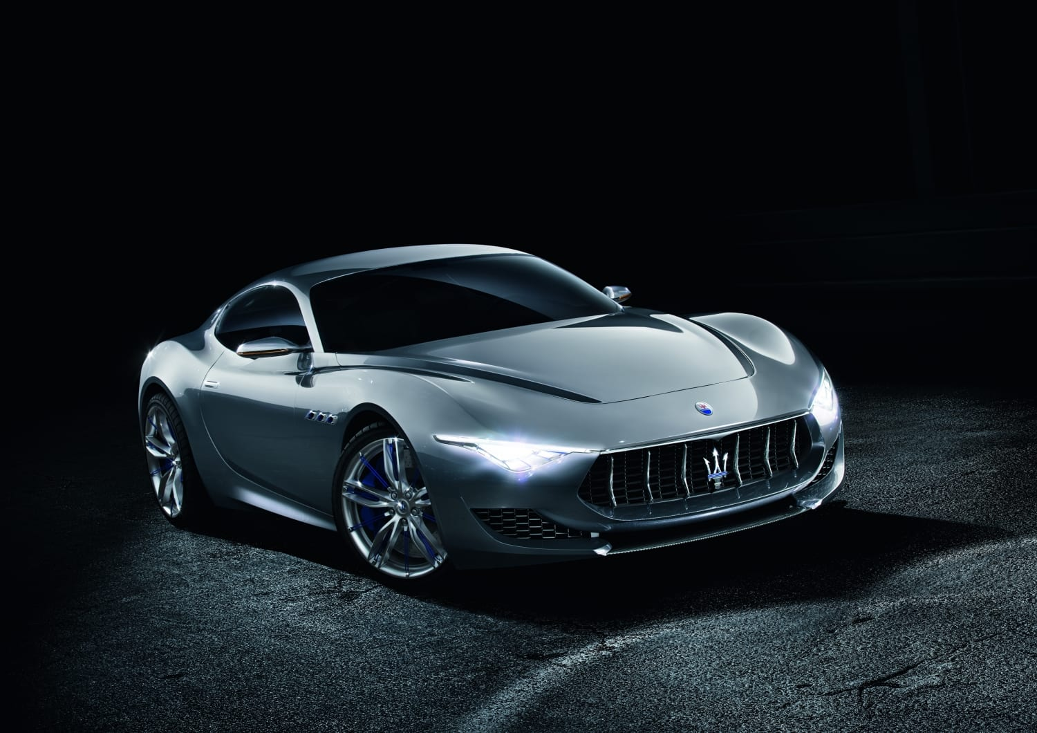 Electric Maserati Alfieri: 0-60 Under 2 Sec.
