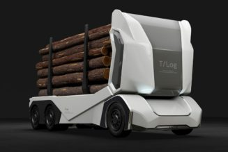 Greenwashing Deforestation w/ T-log Autonomous Truck