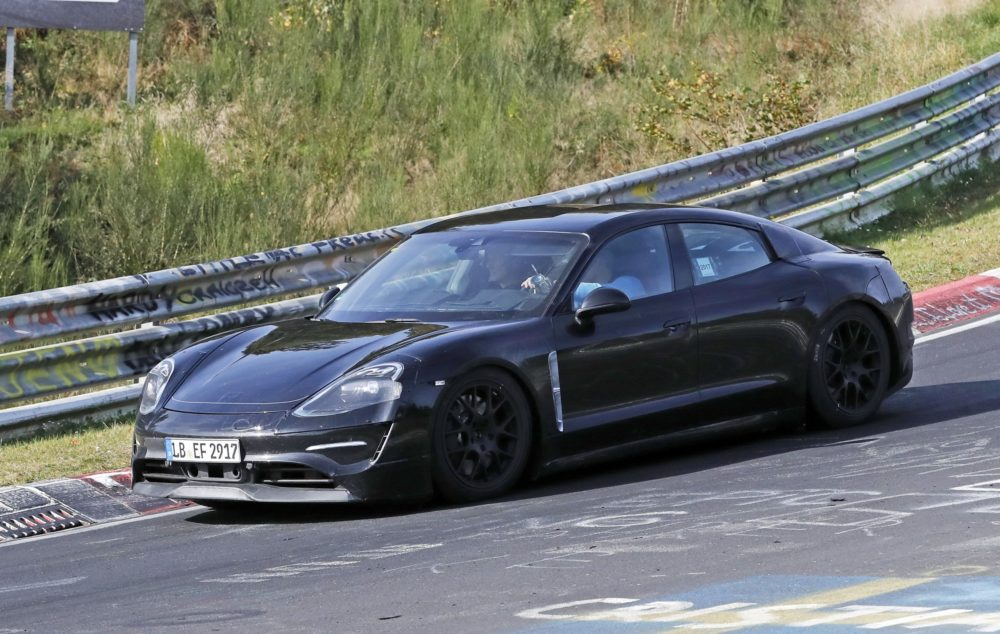Video:  Porsche Taycan Caught Testing at the Nürburgring
