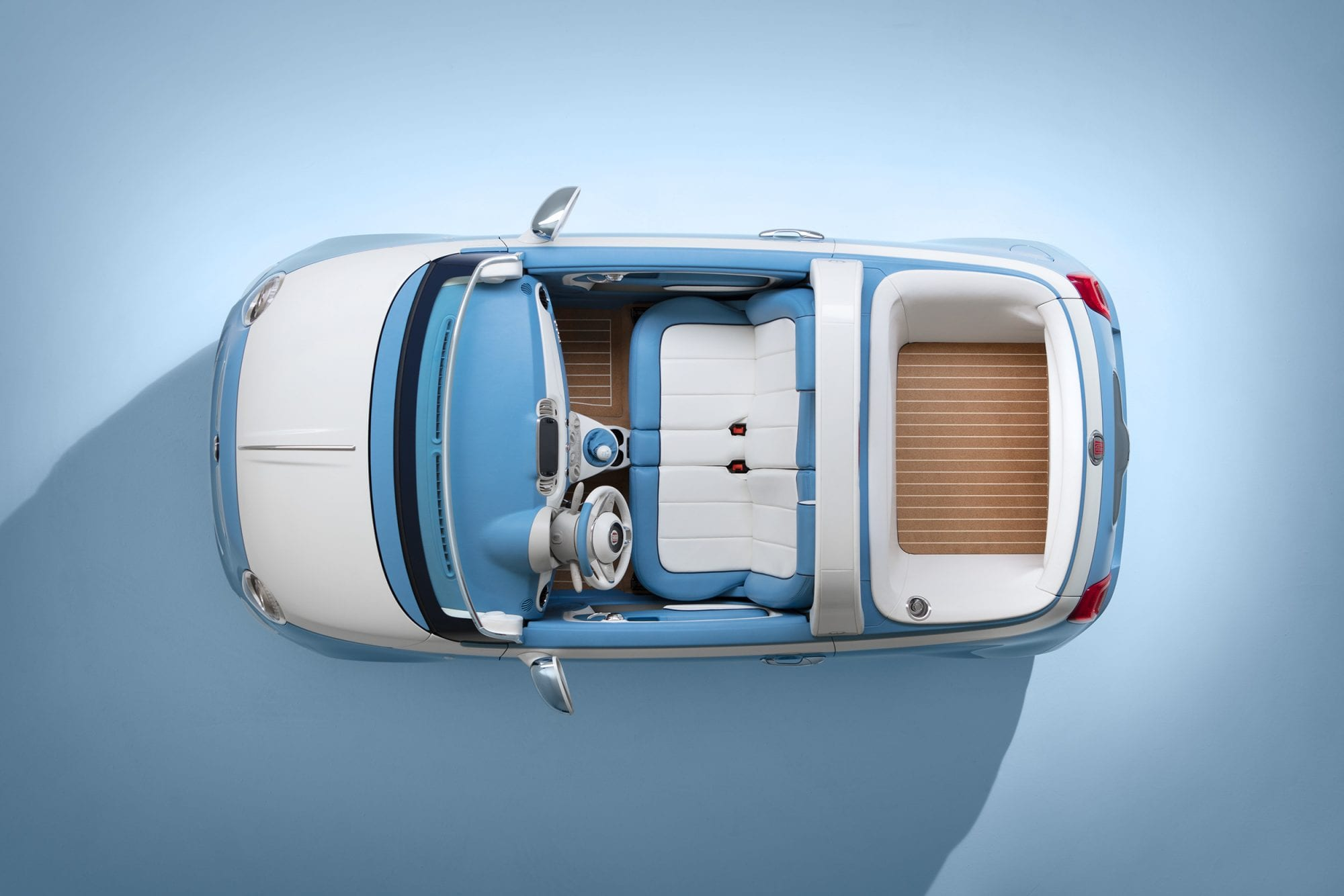 Fun in the Sun:  Fiat 500 Spiaggina Concept