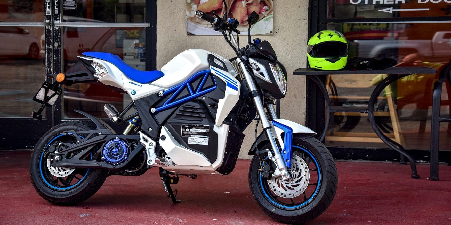 2018 CSC City Slicker, or: Meet the $1995 Electric Motorcycle