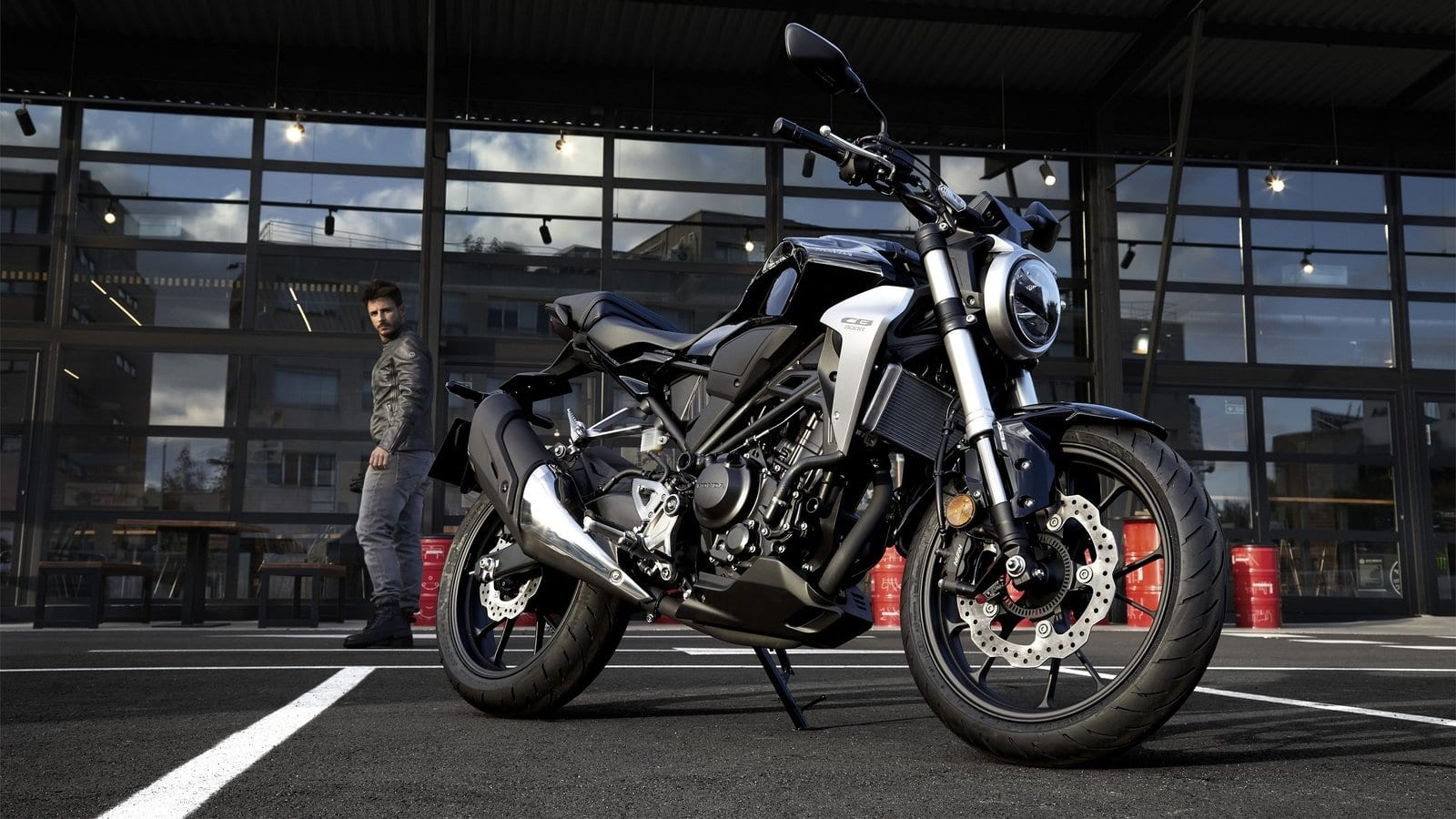 Video:  Meet the all-new 2019 Honda CB300R
