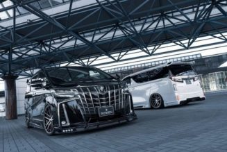 2018 Toyota Alphard Rowen, or:  Japanese Van Culture is Insane