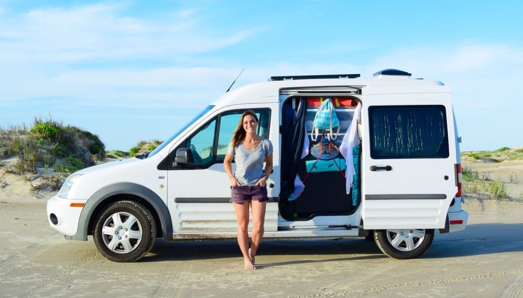 Just Right – Ford Transit Connect Makes Living on the Road Easier