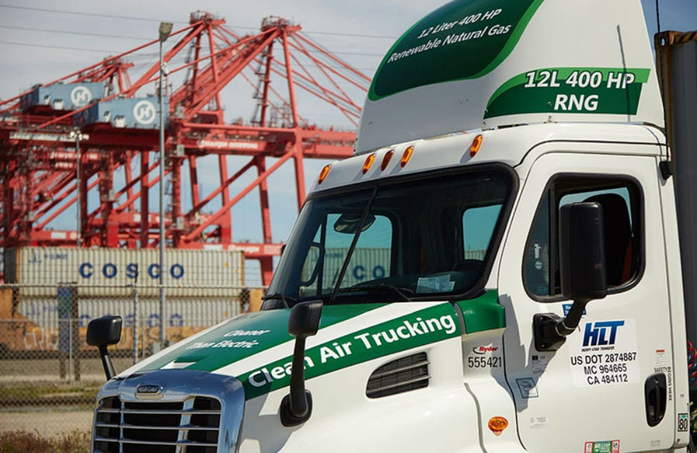 CNG Trucks are Hauling Without Emissions
