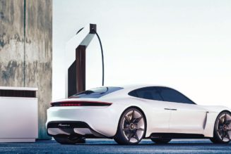 Taycan Fast Charging Station Gets a Name:  Porsche Pit Stop