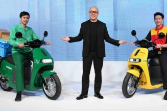 Gogoro Shows Off Battery Swap Partners