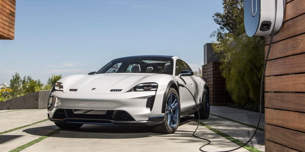 Electric Porsche Taycan is Getting an Off-road, Rally-ready Twin