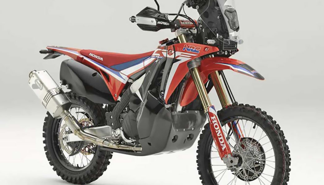 EICMA 2018:  Honda CRF450L Rally (w/ Video)
